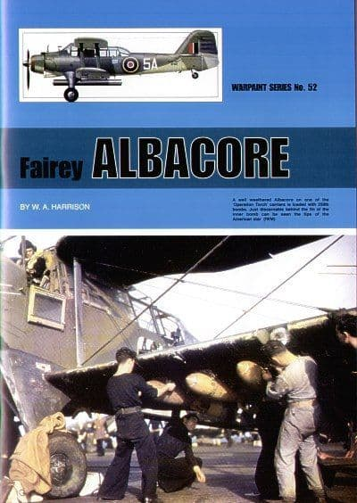 Fairey Albacore Mk.I/Mk.II - By W.A.Harrison