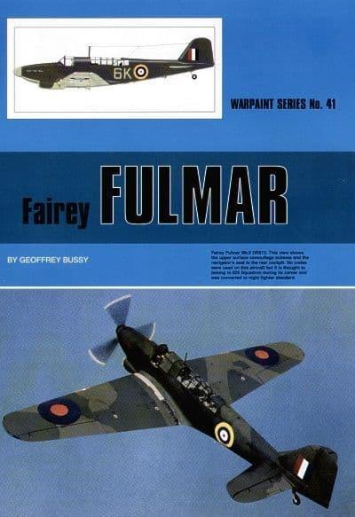 Fairey Fulmar - By Geoffrey Bussy
