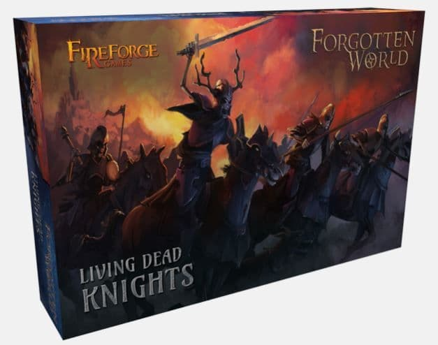 Fireforge Games 28mm Forgotten World Living Dead Knights # FW202