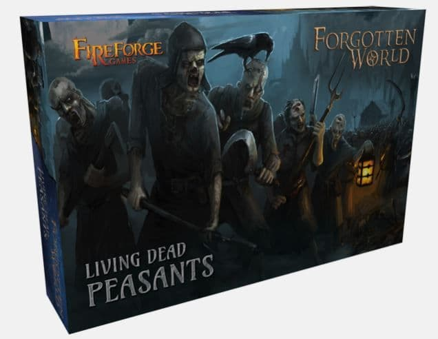Fireforge Games 28mm Forgotten World Living Dead Peasants # FW200