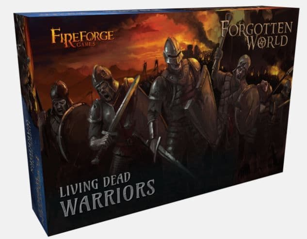 Fireforge Games 28mm Forgotten World Living Dead Warriors # FW201