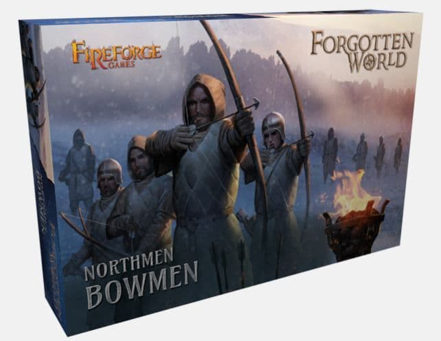 Fireforge Games 28mm Forgotten World Northmen Bowmen # FW101