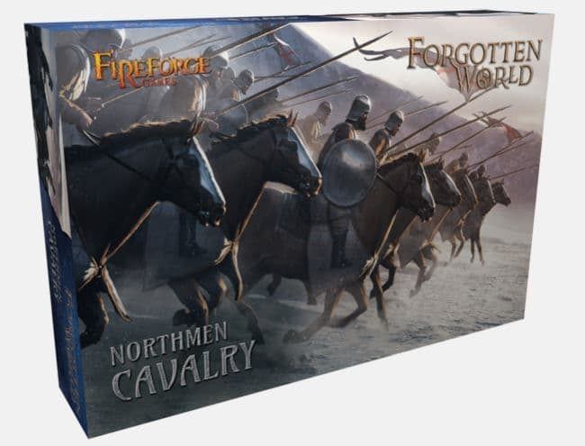 Fireforge Games 28mm Forgotten World Northmen Cavalry # FW102