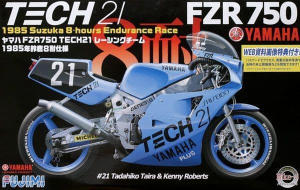 Fujimi 1/12 Yamaha YZR750 TECH21 1985 # 141312