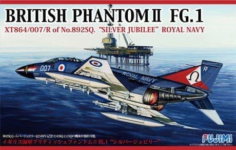 """Fujimi 1/72 British Phantom II FG.1 """"Silver Jubilee"""" Royal Navy # 722726"""