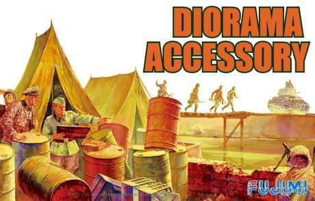 Fujimi 1/76 Diorama Accessory Set # 761237