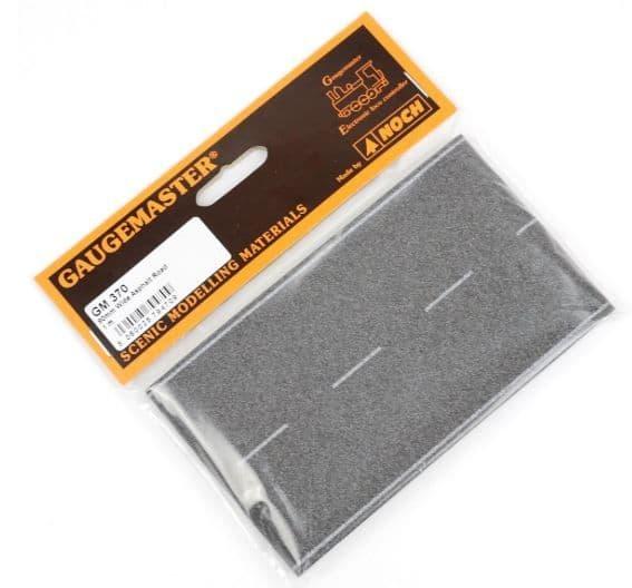 Gaugemaster OO Gauge (1m x 80mm) Self-Adhesive Wide Tarmac Road # GM370