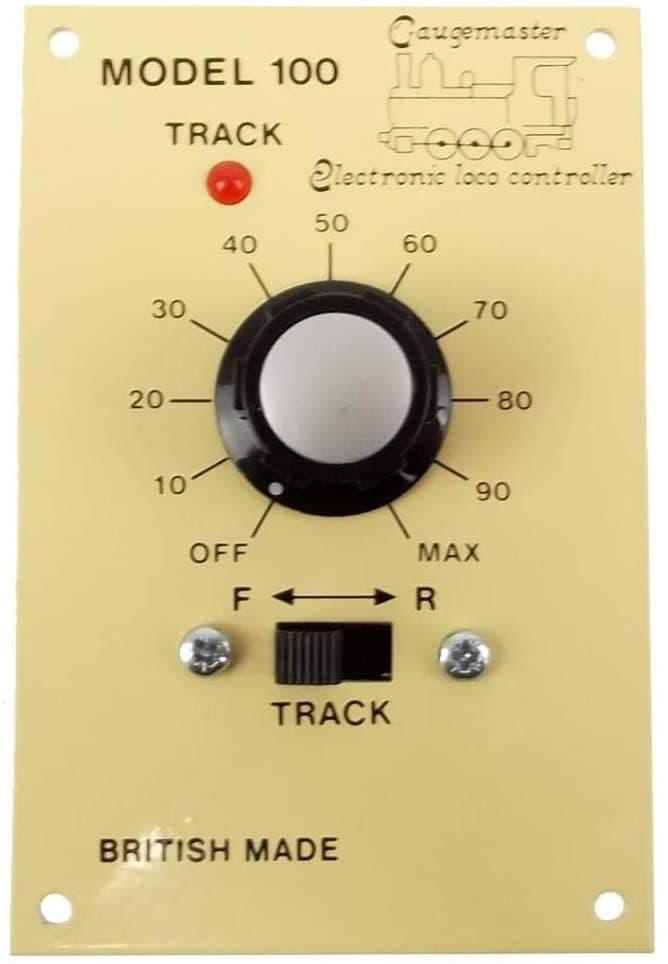 Gaugemaster Single Track Panel Mounted Controller # GMC-100