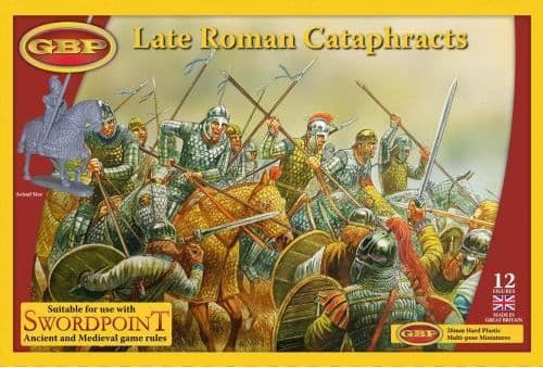 GBP 28mm Late Roman Cataphracts # 028
