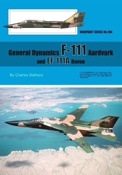 General-Dynamics F-111 Aardvark and EF-111A Raven - by Charles Stafrace