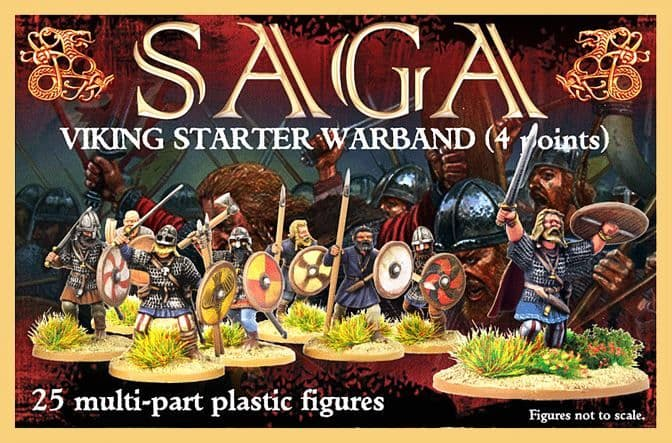 Gripping Beast 28mm SAGA Viking Starter Warband (4 points) # GBP07