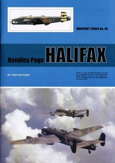 Handley-Page Halifax - By Tony Buttler
