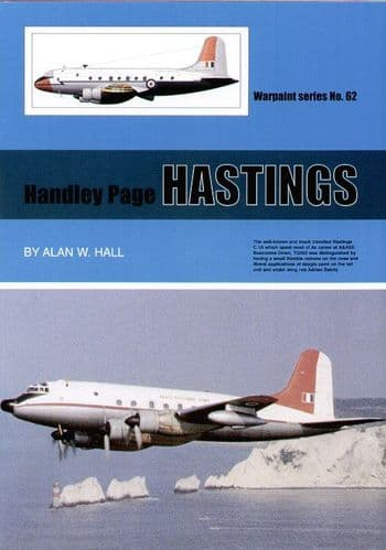 Handley-Page Hastings - By Alan W. Hall