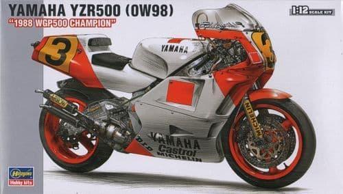"Hasegawa 1/12 Yamaha YZR500 (0W98) ""1988 WGP500 Champion"" # BK03"
