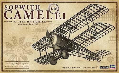 Hasegawa 1/16 Sopwith Camel F.1 # MU01