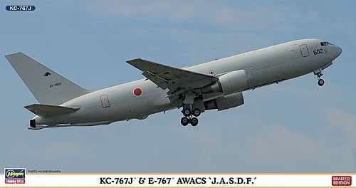 Hasegawa 1/200 Boeing KC-767J & E-767 AWACS J.A.S.D.F. # 10802