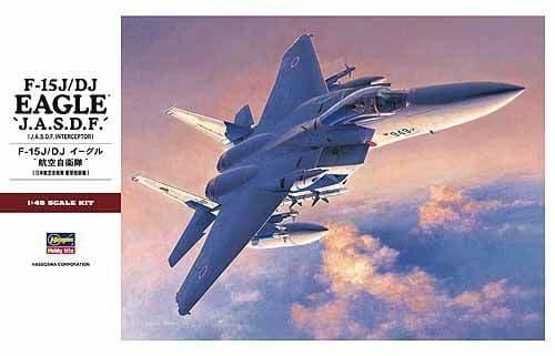 Hasegawa 1/48 McDonnell F-15J / F-15DJ Eagle JASDF # PT051