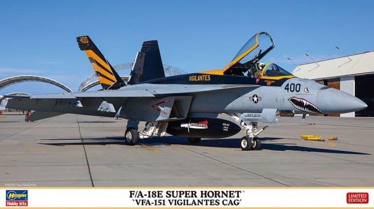 "Hasegawa 1/72 Boeing F/A-18E Super Hornet ""VFA-151 Vigilantes CAG"" # 02365"