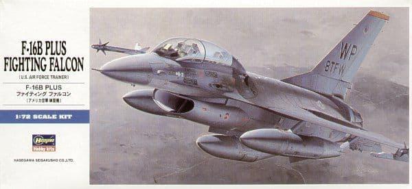 Hasegawa 1/72 General-Dynamics F-16B Plus 'Fighting Falcon' # D14