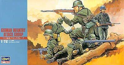 Hasegawa 1/72 German Infantry (WWII) # MT030