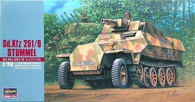 Hasegawa 1/72 German Sd.Kfz.251/9 'Stummel' # MT046