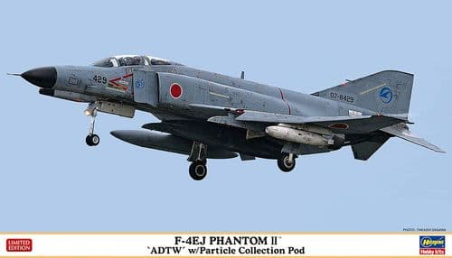 Hasegawa 1/72 McDonnell F-4EJ Phantom II ADTW with Particle Collection Pod # 02369