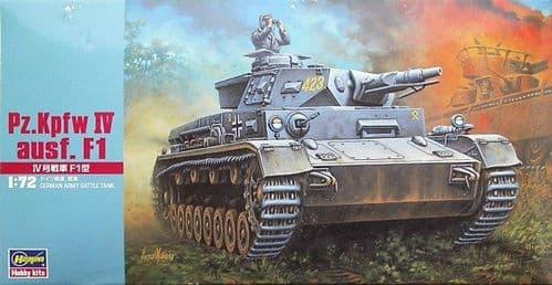Hasegawa 1/72 Pz.Kpfw.IV Ausf.F1 # MT041