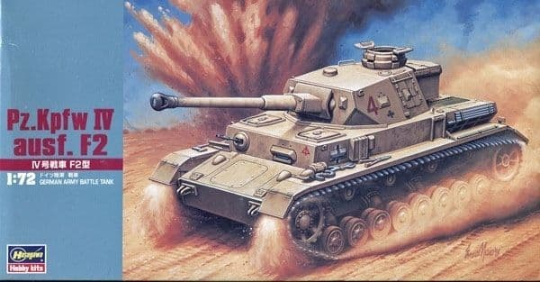 Hasegawa 1/72 Pz.Kpfw.IV Ausf.F2 # MT042