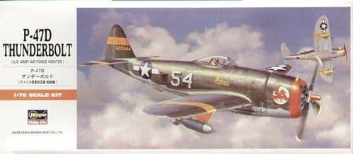 Hasegawa 1/72 Republic P-47D Thunderbolt # A08