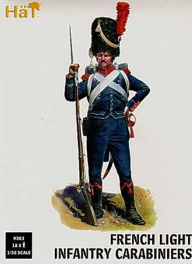 Hat 1/32 Napoleonic French Light Infantry Carabiniers # 9303