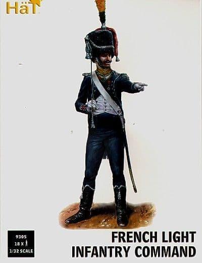 Hat 1/32 Napoleonic French Light Infantry Command # 9305