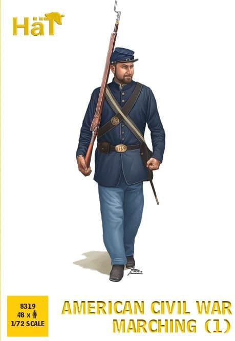 HaT 1/72 American Civil War Marching (1) # 8319