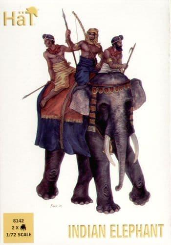 HaT 1/72 Indian Elephants # 8142