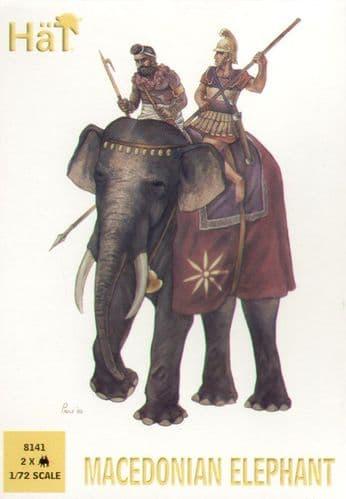 HaT 1/72 Macedonian Elephants # 8141