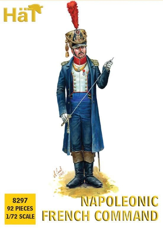 Hat 1/72 Napoleonic French Command # 8297