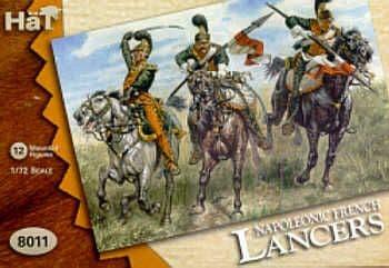 HaT 1/72 Napoleonic French Lancers # 8011