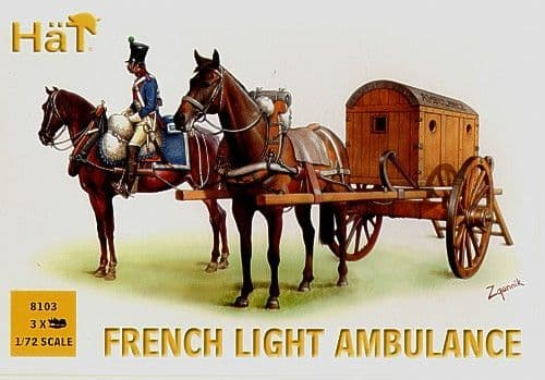 HaT 1/72 Napoleonic French Light Ambulance # 8103