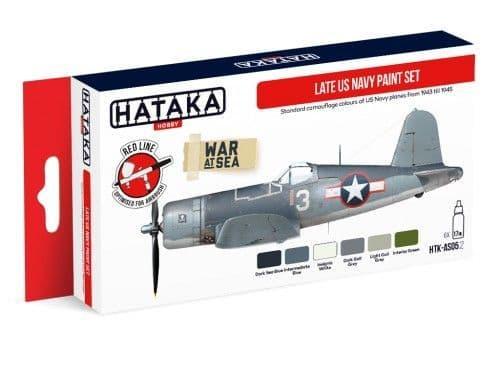 Hataka - Late US Navy Acrylic Paint Set # HTK-AS05.2