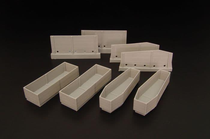 Hauler 1/35 Coffins (4pcs) # U35103