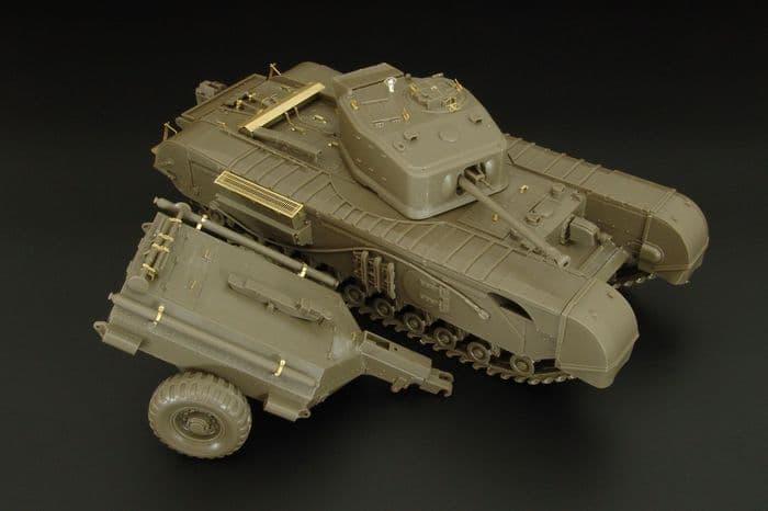 Hauler 1/48 Churchill Mk.VII Detailing Set # X48388