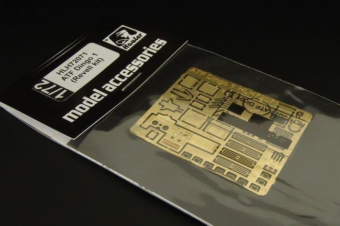 Hauler 1/72 ATF Dingo 1 PE Engraved Plate # H72071