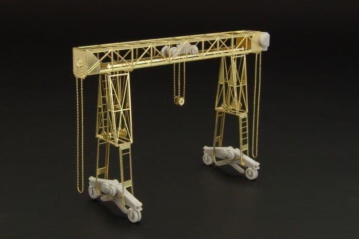 Hauler 1/72 Fries 16t German Crane - Resin Kit # P72022