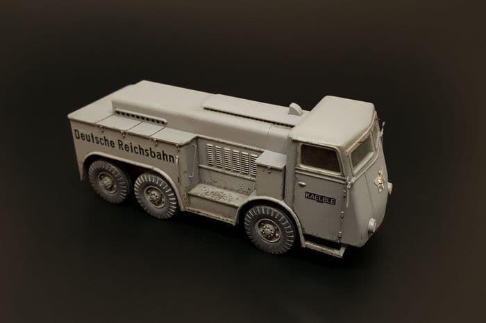 Hauler 1/72 Kaelble Z6R German Heavy Tractor Resin Kit # P72033