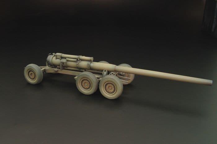 """Hauler 1/72 M1 8"""" Gun Transport Wagon # 72016"""