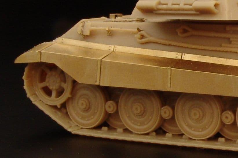 Hauler 1/72 Pz.Kpfw.VI Ausf.B King Tiger Fender Set # 72056