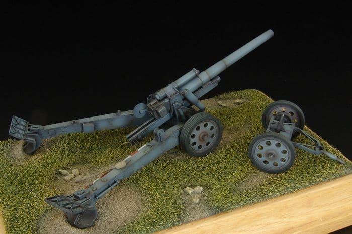 Hauler 1/72 sFH.18 German Howitzer - Resin Kit # P72019