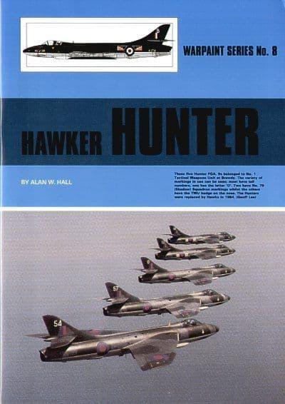 Hawker Hunter - by Alan W. Hall