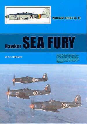Hawker Sea Fury FB.11 by W.A.Harrison