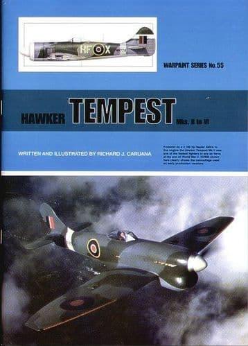 Hawker Tempest Mk.II to Mk.VI - By Richard J. Caruana