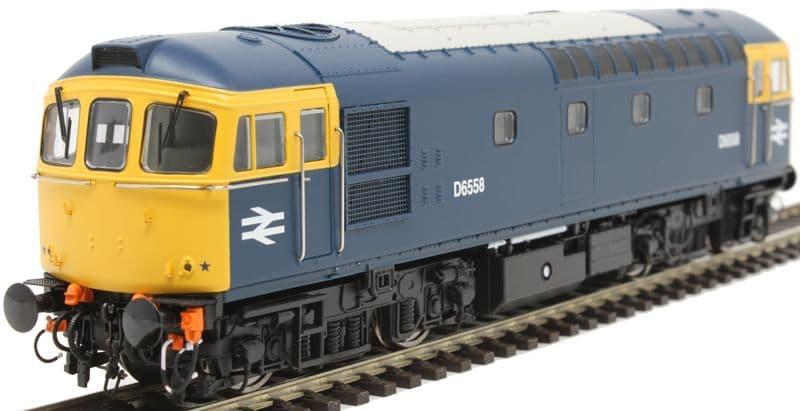 Heljan OO Gauge Class 33/0 D6558 Blue Full Yellow Ends # 3437